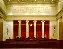 Inside Supreme Court Building