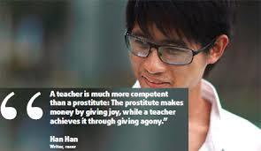 Han Han quote