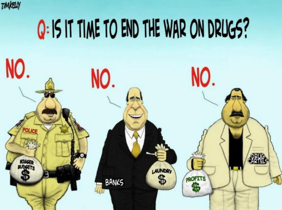 Time to end the war on drugs