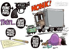 Gunfight-CartoonCarsDriveDrunk