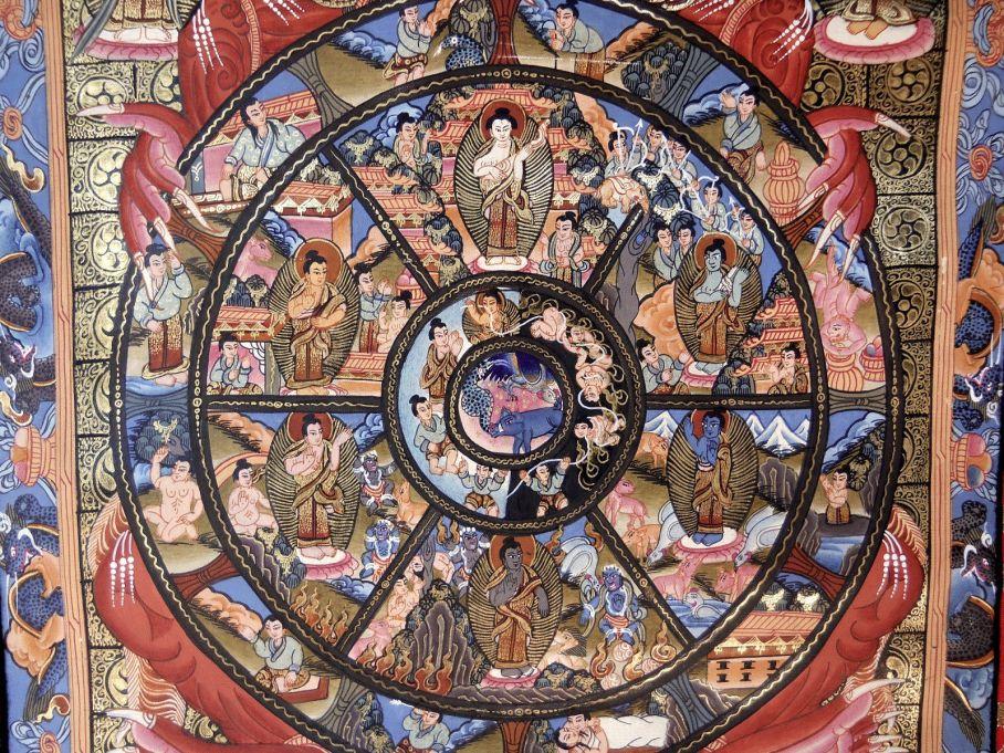 Power of Myth-Wheel of Life