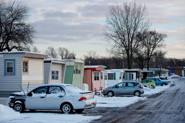 Evicted College Mobile Home Park in Milwaukee