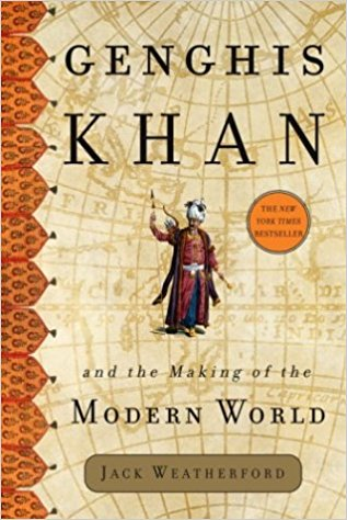 Genghis Khan-Book Cover
