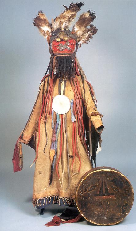 Genghis Khan-Mongolian Shaman