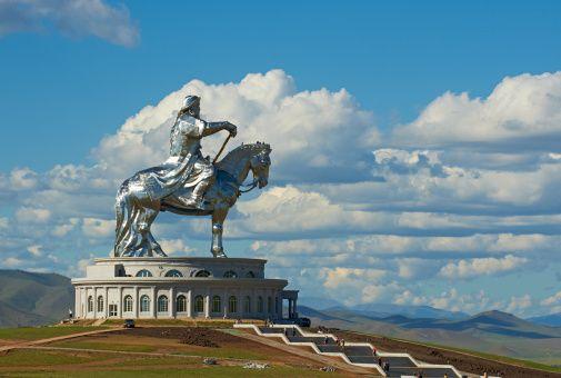 Genghis Khan-Monument