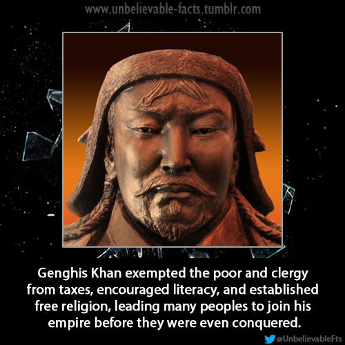 Ghengis Khan-Image and Pop Notes