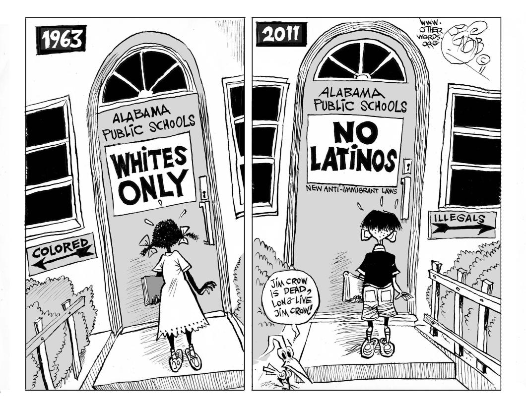 New Jim Crow-Immigration