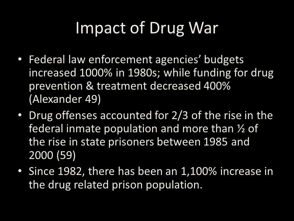 New Jim Crow Impact+of+Drug+War
