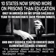 New Jim Crow Prisons and Schools