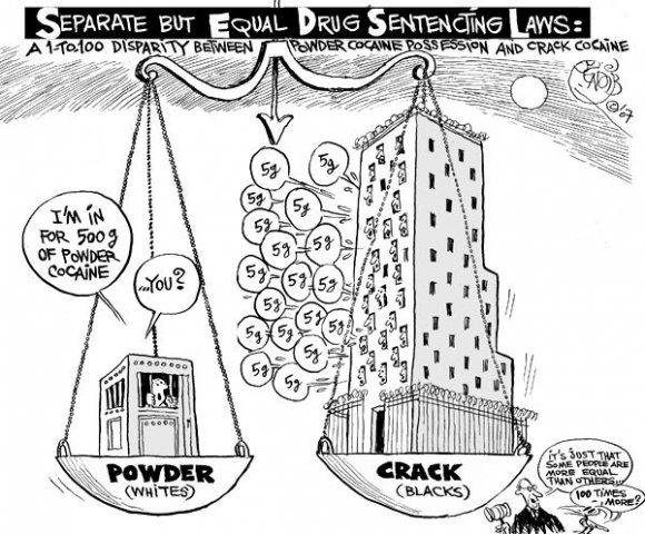 New Jim Crow Separate-but-Equal-Drug-Sentencing