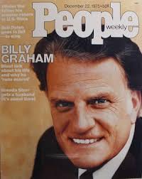 Evangelicals-People Cover Billy Graham