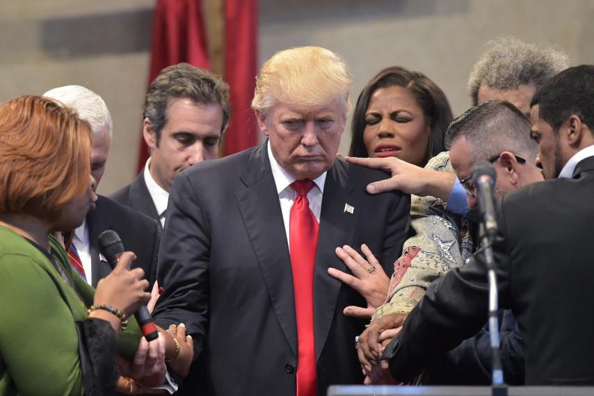 Evangelicals Trump