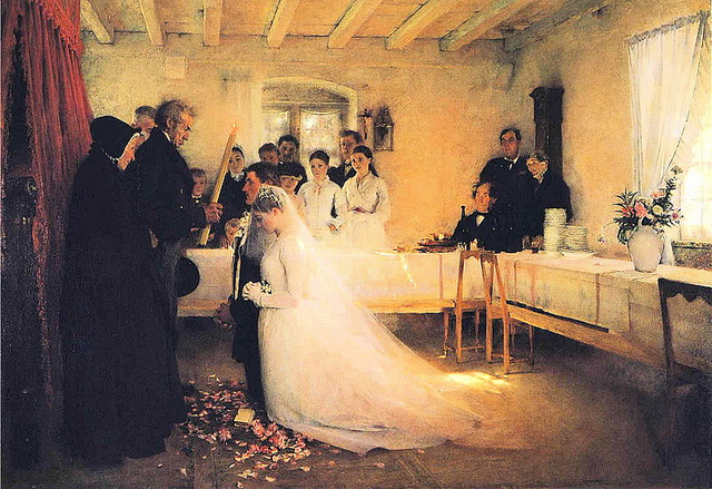 Evangelicals Wedding