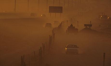 Antifragile Sandstorm-in-Riyadh-Saudi