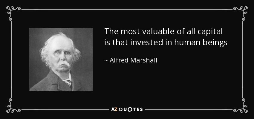 Alfred Marshal Quote