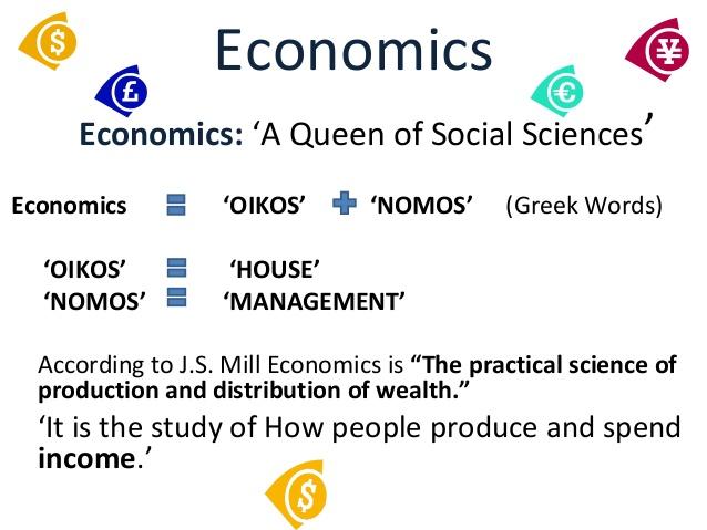 Worldly Economics the Queen