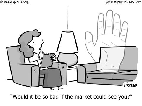 Worldly Invisibile Hand Cartoon