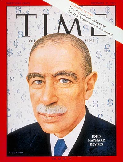 Worldly Keynes Time Cover