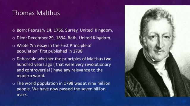 Worldly Malthus