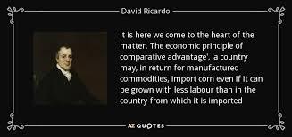 Worldly Ricardo Quote