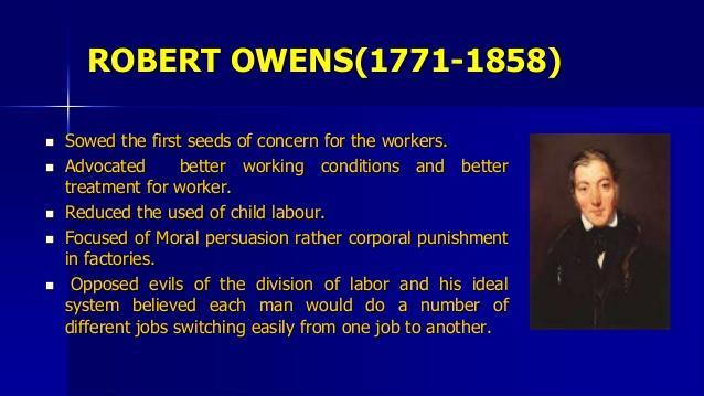 Worldly Robert Owen Bio