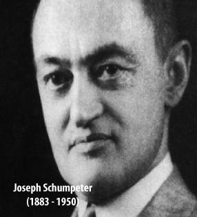 Worldly Schumpeter