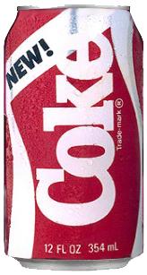 Blink New Coke