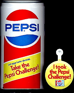 Blink Pepsi Challenge